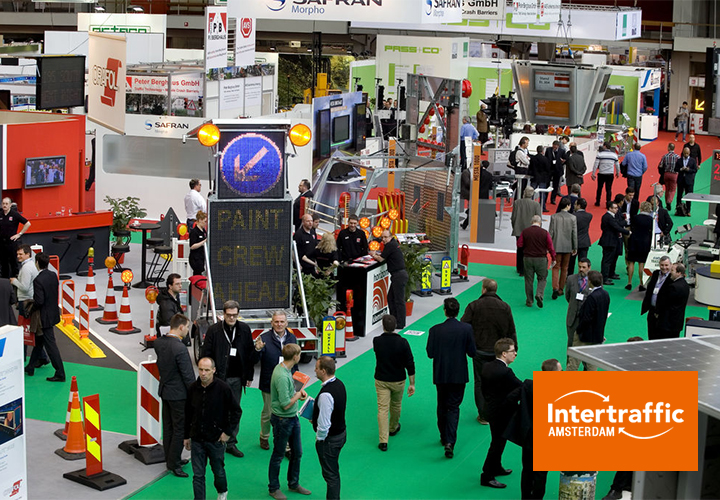 Ditech will be present at Intertraffic in Amsterdam from 20 to 23 March 2018